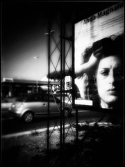 the tattooed rose_ (RoS_Roll over Shape_) Tags: loves thoughts bw roma street empathy sensibility feeling moods annamagnani