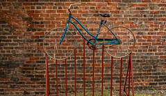 Bike Rack (Marc_714) Tags: marc714 bikerack bike bicycle brils murray blue