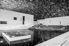 2018 Abu Dhabi Louvre-4989 (magnus.werthebach) Tags: abu dhabi louvre uae vae architektur architecture art arts sw schwarzweis schwarz weis weiss blackandwhite black bw white mono monochrome