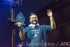 Pregon Jesus Lago-0250 (Leganés Activo) Tags: leganés fiestas pregón campeones batukada escenario gente
