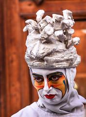 sadness of a mime (robertoburchi1) Tags: people persone portrait ritratto conceptual colours colori