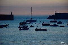 Atadecer en el puerto de a guarda AG (Ismael Owen Sullivan) Tags: landscape paisaje sun sunset sea mar ocean horizont horizonte foto fotografia nikon nature naturaleza d5300 digital oceano atlantico atlantic photography galicia guarda españa pontevedra europa europe travel turismo viajar