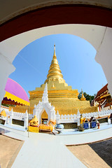 Wat Phra That Chae Haeng, Nan province, Thailand (www.icon0.com) Tags: watphrathatchaehaeng nanprovince thailand ancient architecture art asia asian attraction beautiful blue buddha buddhism building chae chedi culture design destination divinity famous gold golden haeng historic history important landmark nan northern old open outdoor pagoda peaceful phra province rabbit religion restoration sky structure stupa style temple tourism traditional travel wat white worship year