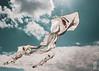 Eyes up to the Sky [Explored] (Corbicus Maximus) Tags: kite eyes dramatic sky clouds sunrays nikon d80 18105mm southseauk southseacommon portsmouthuk
