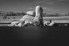The Pinnacle - Oberon Dam (Richard Sollorz Photography) Tags: richard sollorz photography oberon dam central west nsw australia outdoors landscape infrared haida filter r72 granite boulders monochrome black white long exposure