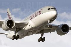 Qatar A7-BCU 30-7-2018 (Enda Burke) Tags: a7bcu avgeek aviation airplane av8 aero aviationviewingpark avp airport arrival apron egcc engine engines england evening emirates uae unitedarabemirates qatar qatarairways doha doh canon canon7dmk2 manchesterairport manchester man manc omaa manairport manchesterrunwayvisitorpark manchestercity night nightime planes plane 787 7878 b787 boeing b7878 boeing7878 runway runwayvisitorpark rvp runwayvistitorpark ringway ringwayroad