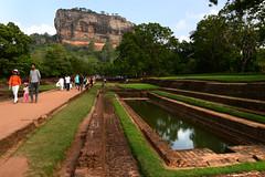 Lion Rock 獅子岩 (MelindaChan ^..^) Tags: sigiriya lionrock 獅子岩 srilanka 斯里蘭卡 chanmelmel mel melinda melindachan heritage history nature rock tourist ancient fortress ruin
