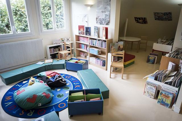 Espace enfant à l'étage