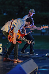 C58R3552 (Nick Kozub) Tags: justin saladino band laval zones musicals festival concert gig live music spectacle fender gibson guitar ruckus fun photography canon day festive supro amp heat bassface evening 1d x 85 f12 ii l