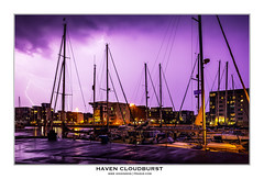 HAVENCLOUDBURST2500 (Mike Higginson | frazaz.com) Tags: marina ipswich haven suffolk lightening thunder tiltshift 24mm canon city landscape cityscape night frazaz