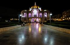 Palacio des Bellas Artes in Mexico City (` Toshio ') Tags: toshio mexico mexicocity palaciodesbellasartes palaceoffinearts ballet night architecture centralamerica latinamerica city fujixt2 xt2 people historic