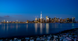New York City Skyline - View from New Jersey
