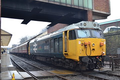 50015 Valiant (Will Swain) Tags: bury bolton street station 13th april 2018 spring diesel gala greater manchester city centre north west train trains rail railway railways transport travel uk britain vehicle vehicles england english 40s 60 50015 valiant class 50