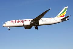 Ethiopian ET-ATL, OSL ENGM Gardermoen (Inger Bjørndal Foss) Tags: etatl ethiopian boeing 787 dreamliner osl engm gardermoen