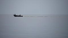 Pirates of Lake Winnipeg? (Bad Alley (Cat)) Tags: hillsidebeach manitoba water lake lakewinnipeg shore grey