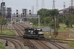 3G2A4088 (kschmidt626) Tags: train steel mill indiana chicago gary switching sw1500 amtrak hammond