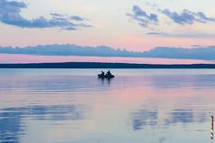Fishermen II (alexey & kuzma) Tags: fisherman samsung gx20 karelia russia landscape lake water