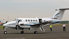 G-NIAA BEECHCRAFT B200 SUPER KING KING AIR (toowoomba surfer) Tags: generalaviation aircraft aviation aeroplane ncl egnt