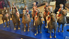 Ten Mounted Soldiers, China Collection, Royal Ontario Museum, Toronto, ON (Snuffy) Tags: tenmountedsoldiers chinacollection royalontariomuseum rom toronto ontario canada autofocus