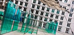 Labyrinthe (L'Abominable Homme de Rires) Tags: ladéfense paris architecture skyscraper gratteciel building immeuble iledefrance canon5d 5dmkiii sigma 24105mmf4 dxo photolab lightroom city urban