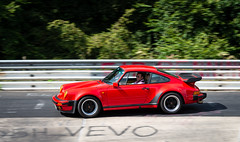 Gotta Love an Old 911! (bramtop_1990) Tags: moustache badass driving racing racecar 911 old red rot rood rwd spoiler g modell karussell carousel nordschleife nürburging glasses tamron 70200 mm f28 vc nikond d610 panning pan fuchs track circuit strecke