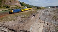 Beach Tractor (Richie B.) Tags: 1q82 whitehaven bransty colas rail english electric british class 37 37612