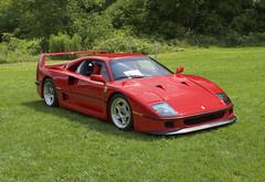 Ferrari's old king of the road, the F40 (pathological) Tags: italian car day boyd conservation area woodbridge vaughan toronto ferrari