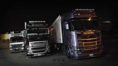 Top Italian Trucks in Malta (Daniel's Transport Photos) Tags: mercedes mercedesbenz scania malta volvo v8 truck trucks