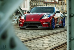 JDMNation (mateusz.jedrak1) Tags: nissan 370z japan tuning car jdm blue red