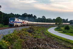 The Crescent (Kyle Yunker) Tags: amtrak p42dc phase iv heritage unit passenger general electric