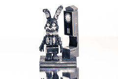freddy (timp37) Tags: toy lego freddy clock black white