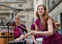 Manchester based Brazilian street band Juba do Leão performing at Glasgow's Merchant City Festival (Gordon.A) Tags: scotland glasgow merchantcity merchantcityfestival august 2018 encontro street band festival juba do leão brazilian maracatu festiwal festivaali festivalen wyl féile festspiele event eventphotography streetevent candid streetphotography music musician musicians streetmusician drum drums drummer drumming percussion percussionist lady woman people peoplemakeglasgow city urban arts artsfestival vibrant vibrance culture entertainer entertainers entertainment atmosphere celebration creative costume performer performers performance colour color colourful canon eos 750d