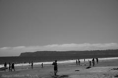 Time passes slow on the beach. (Katarzyna Aleksandra) Tags: people beach pacific ocean summer