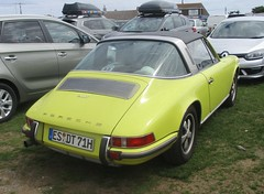 A Long Way From Home (occama) Tags: porsche 911t old car cornwall uk german visitor germany alongwayfromhome esslingen yellow 1970s 1960s 2018 summer holiday travel deutschland