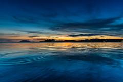 宍道湖の夕焼け (higeorange) Tags: sunset lake 夕焼け 島根 宍道湖