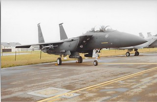90-0258 McDonnell-Douglas F-15E Strike Eagle US Air Force