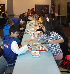 20161210_131627 (ypsidistrictlibrary) Tags: gingerbreadhouses gingerbread candy kids annual xmas christmas ydlwhittaker