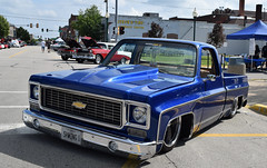 Lets Ride Low (kendoman26) Tags: htt happytruckthursday 1973chevypickup 1973chevroletpickup morrisillinois morriscruisenight june2018morriscruisenight nikon nikond3300 nikon1855afs3556