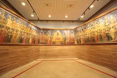 Restored wall painting (blondinrikard) Tags: negarestan tehran museum park