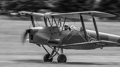 _DSC9789-17 (Ian. J. Winfield) Tags: aeroplane plane aircraft flight flying flyinflyin fly charity moth dh club dehavilland shuttleworth oldwarden aviation biplane monochrom black white