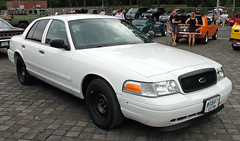 Unmarked CVPI (Schwanzus_Longus) Tags: street mag show hannover german germany us usa america american modern car vehicle sedan saloon police law enforcement cruiser ford crown victoria interceptor cvpi unmarked