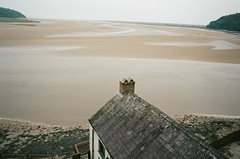The Boat House and the Estuary (Bsivad) Tags: laugharne theboathouse wales dylanthomas