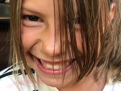 The spunky one (saudades1000) Tags: smilingface rosto girl child happy smile smiling menina face spunky