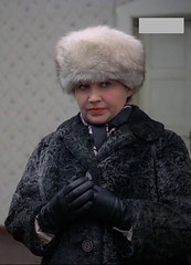 Fur Hat (Warm Clothes Fetish) Tags: fur coat girl women hat warm clothed washerwoman sweat torture hot slave fleece apron boots suit waitress maid