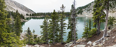 Lake Katherine (thomas.hartmann496) Tags: newmexico natural landscape pine alpine nature water needles overcast lake spring spruce katherine trees plant wild overlook tree panorama plants baldy country sky green backcountry santafe wilderness white