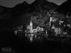 Hallstatt at night (Slobodan Siridžanski) Tags: boca hallstatt 2018 oberösterreich austria at