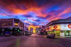 onda verde (Mauro Esains) Tags: ciudad patagonia paisaje paseo invierno urbano nubes luces turismo tranquilidad viento vidrios cielo chubut comodoro clouds centro