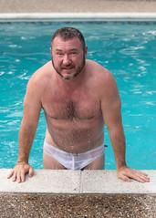 JRShoot-1373edt_5x7 (Mike WMB) Tags: bear beard pool swimsuit