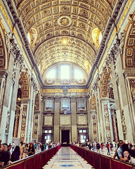 #stpeterbasilica #arch #dome #vatican #rome (Vathanakun) Tags: ifttt 500px instagram