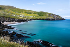 Coumeenoole Beach (Ray Moloney Photography) Tags: ifttt 500px coastline horizon over water waters edge bay rocky seascape riverbank sea headland coastal feature idyllic beach coumeenoole ireland kerry county long exposure blue atlantic summer